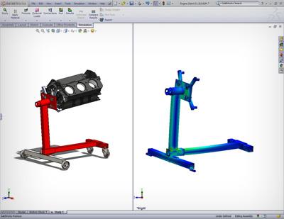 Engine-Stand-Statics-results