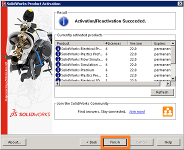 How to transfer SolidWorks license from one computer to another