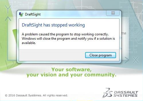 DraftSight Critical HotFix - SOLIDWORKS Reseller Hyderabad