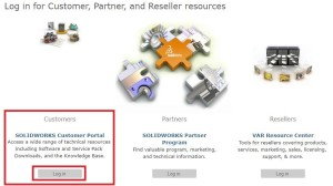 SOLIDWORKS customer portal