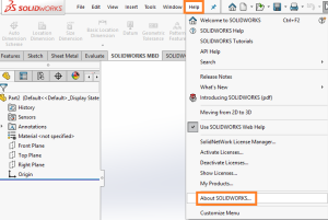 How to find your SOLIDWORKS Serial Number, Version & Service