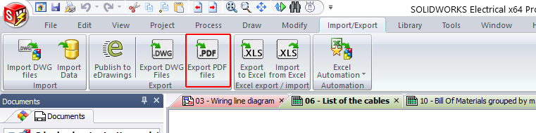 Why PDF Export Function is not working in SOLIDWORKS Electrical