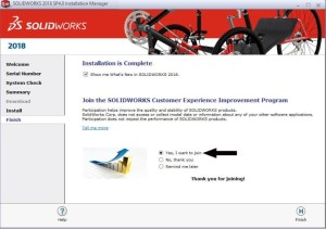 Install SOLIDWORKS
