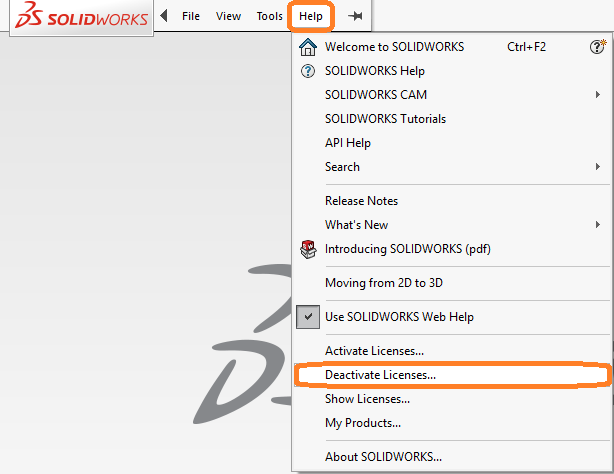 How to Deactivate a SOLIDWORKS License - SOLIDWORKS Reseller